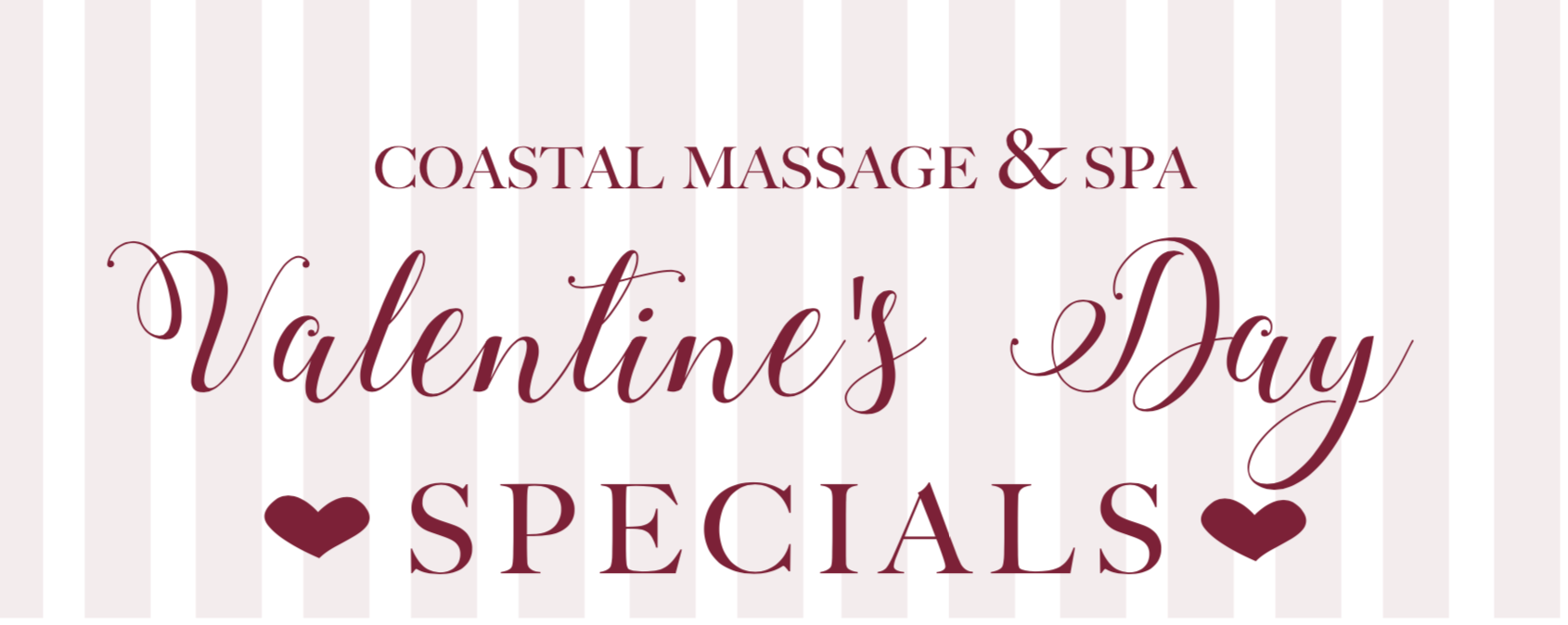 Valentine S Day Gifts In Wilmington Nc Coastal Massage Spa